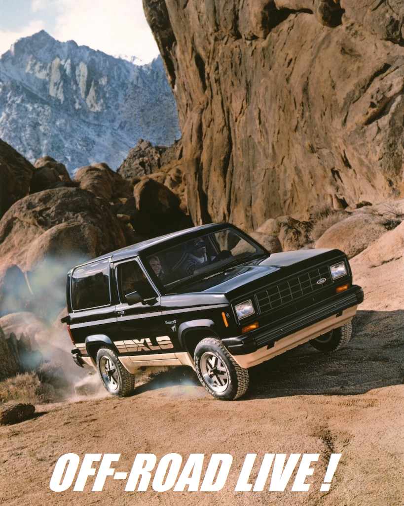Baja Racing News Live Ford Bronco Turns 50first Four Wheel 1980 Full Size After Another Hasty Redesign In The Came Into Its Third Reincarnation As A Smaller Boxier Entity With An Inline Six Engine That Out Powered