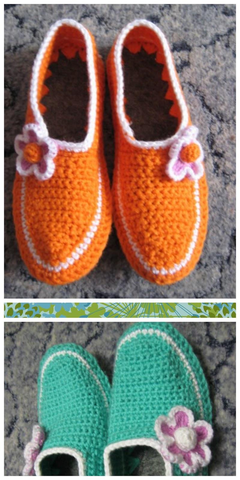Como hacer Zapatillas de Ganchillo desde unas Suelas