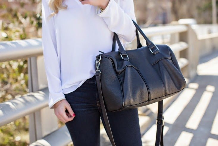 Sole Society Vegan Leather Handbag