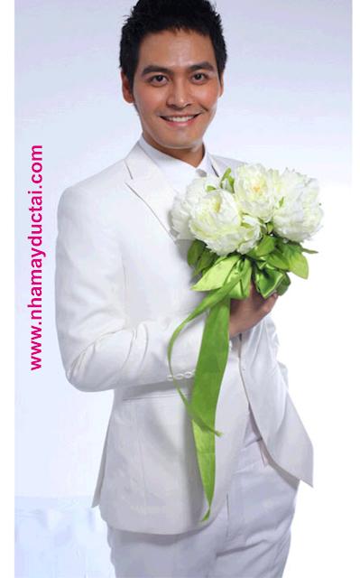 Vest cưới chú rể 1 cúc - NMĐT04