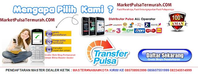 Panduan Singkat Gabung di Server Pulsa Termurah Market Pulsa
