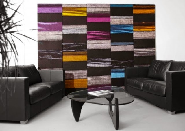 Color Wall Panels : Beautiful decorative acoustic wall panels for modern interior