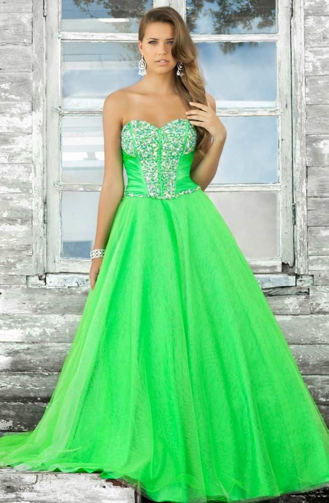 Cheap Modest Long Wedding Dresses Bling Green Design pictures hd