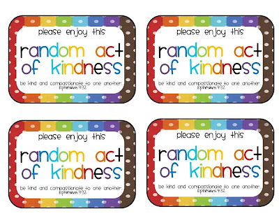 Gallery For > Random Acts Of Kindness Cards