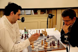 Echecs à Zurich : Kramnik et Aronian analysent la première partie - Photo © www.chess-news.ru © www.chess-news.ru