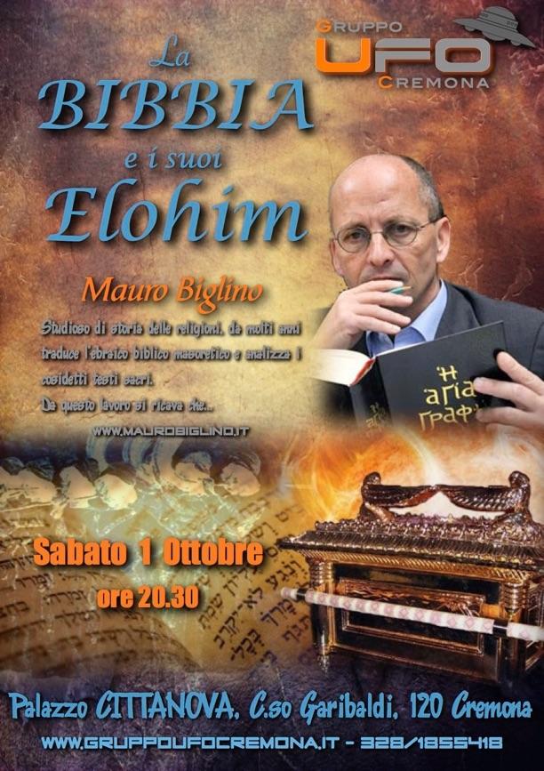 LA BIBBIA E I SUOI ELOHIM - CONFERENZA DI MAURO BIGLINO