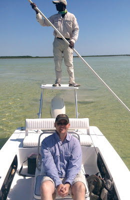 Andrew Moy and Percy, Andros, Bahamas
