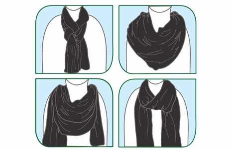 Ways to Wear your Born Free Nursing Shawl