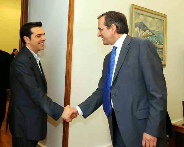 """Σύριζα: """"Μην χτυπάτε τον Σαμαρά! Έχουμε συμφωνήσει μαζί του να συνεχίσουμε εμείς τα μνημόνια και εκείνος να προστατευθεί"""""""