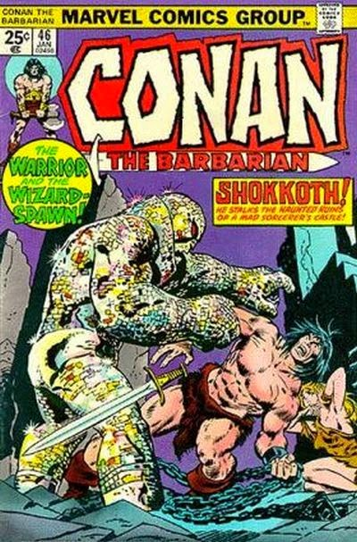 Conan the Barbarian #46