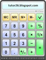 Online Calculator Tools-Kalkulator Online Gratis