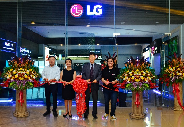 LG Cconcept Store in Robinsons Galleria Cebu