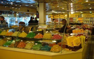 Balas de goma em formato de frutas da Del Turista
