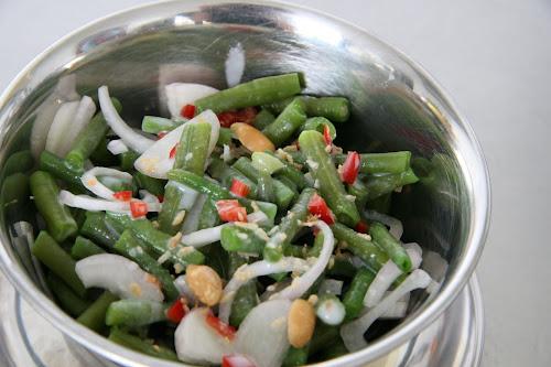 Johanna's Salade van Groene Bonen