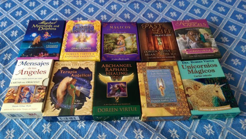 Los Oraculos De Doreen Virtue Gua Con Oraculos