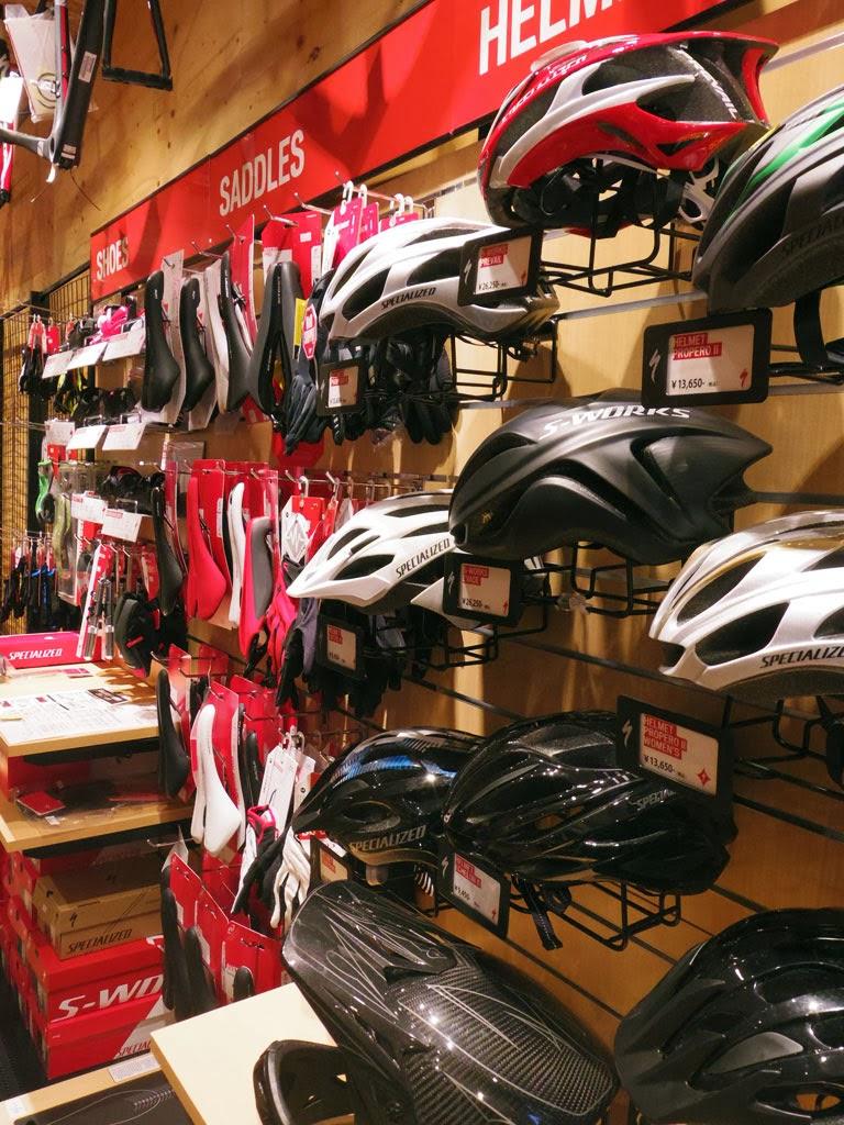 ロードバイク、MTB、クロスバイクまで幅広い品ぞろえ