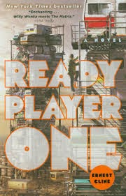 UK book cover of Ready Player One by Ernest Cline