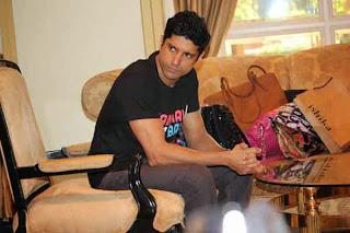 Farhan Akhtar at Launch of Website Flickbay.Com Website