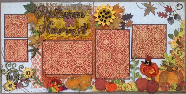amazing grace paper crafts fall layouts