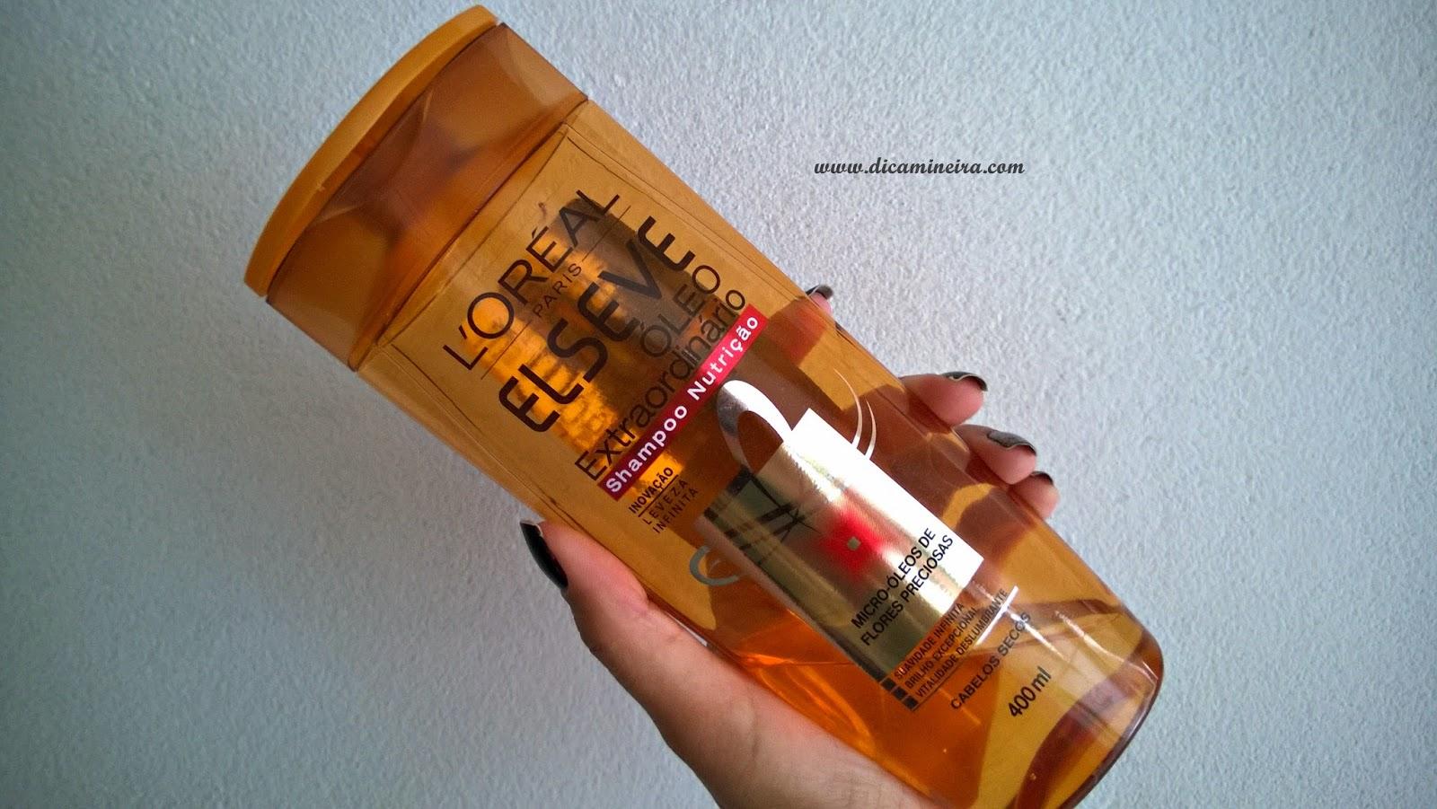 Testei: Shampoo Elseve Extraordinário L'oreal