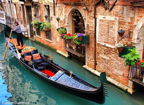 Cara harga naik gondola di venice