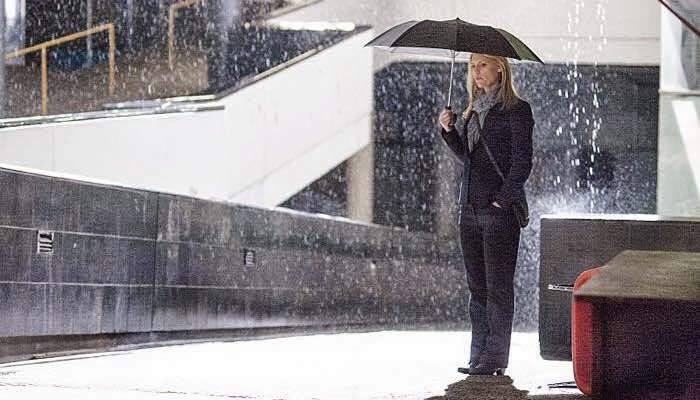 Claire Danes en Homeland Halfway to A Donut Showtime