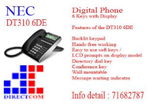 NEC DT310 6DE