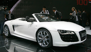 Audi R8 Spyder photos gallery