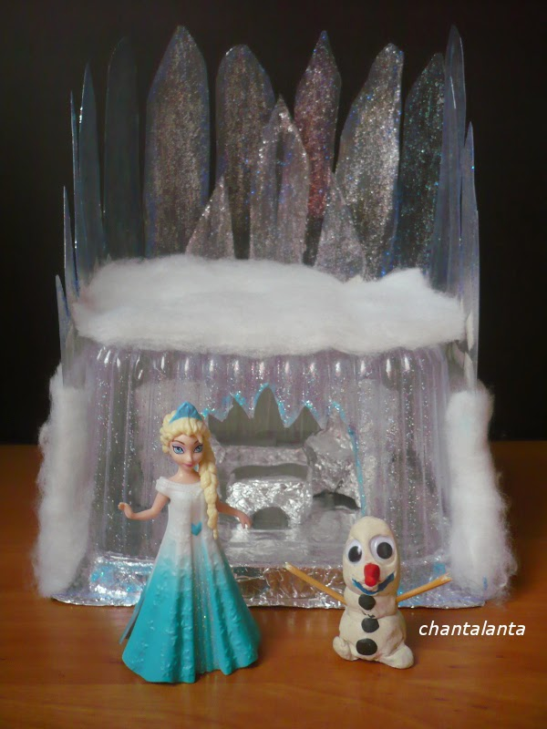 Замок для снежной королевы своими руками 12