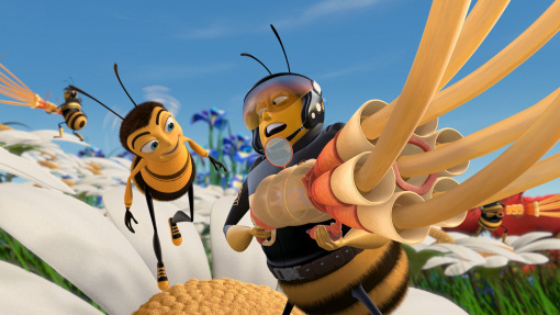 Bee Movie Jerry Seinfeld Dreamworks animatedfilmreviews.blogspot.com