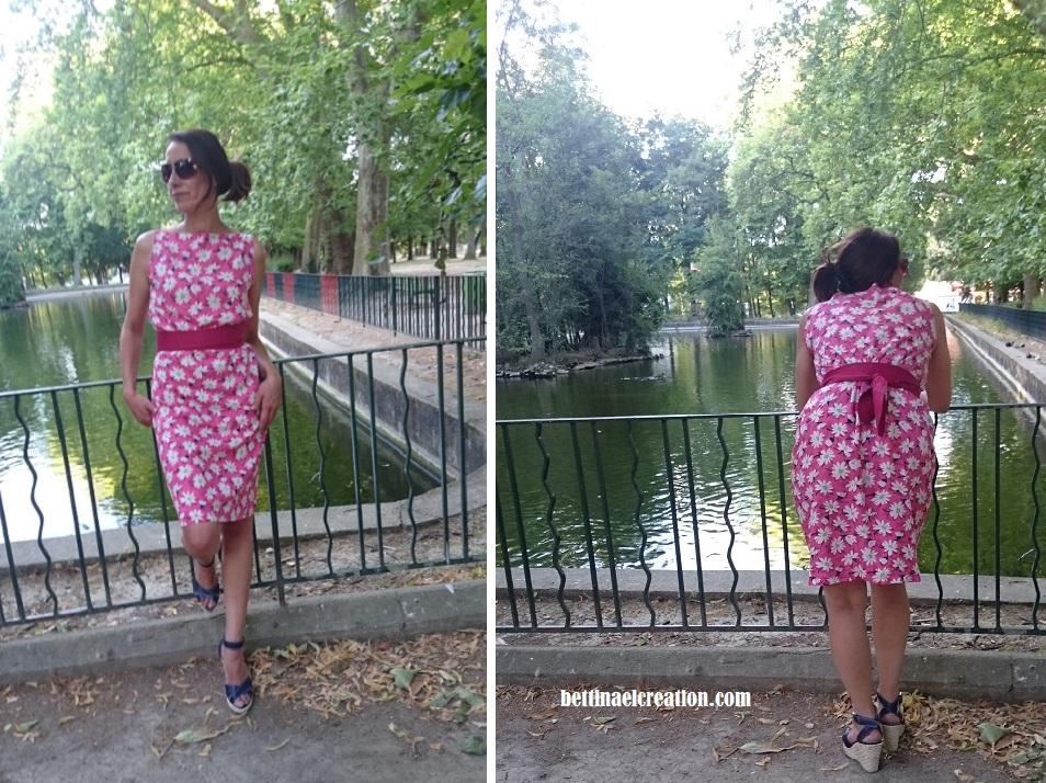 Diy couture facile ma robe trap ze bettinael passion couture made in france - Diy couture facile ...