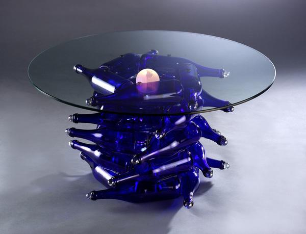 Стол для дачи из подручного материала своими руками