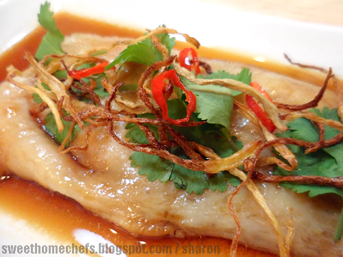Sweet home chefs soy sauce steamed fish for Soy sauce fish