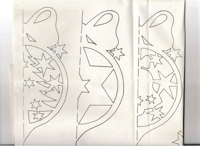 Новогодние поделки из бумаги своими руками схемы