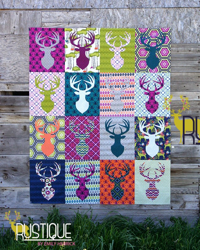 Antler Quilt Design & Mysterious Pattern By Antler Quilt Design ... : antler quilt design - Adamdwight.com