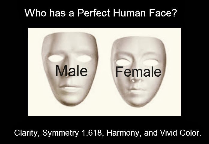 The Perfect Human Face Contest.