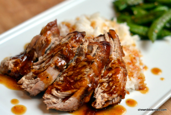 Slow Cooker Pork Tenderloin with Orange Hoisin Glaze