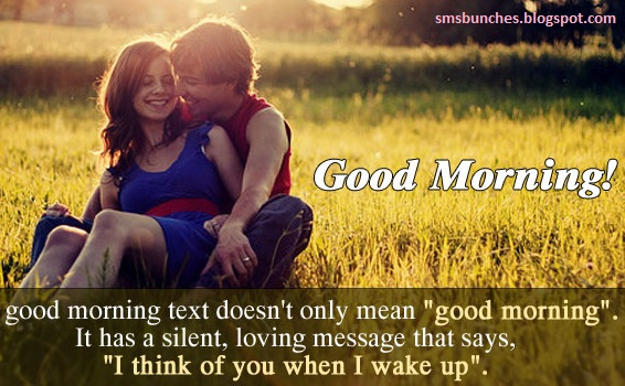 Good morning msg for girlfriend