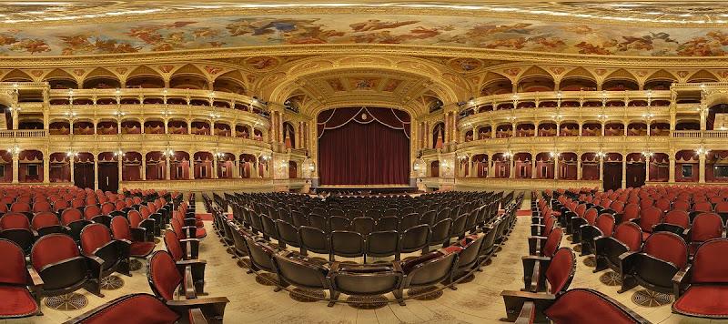Operaház nézőtér gömbpanoráma