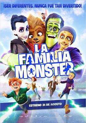La Familia Monster en Español Latino
