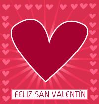 Feliz San Valentín con Corazones