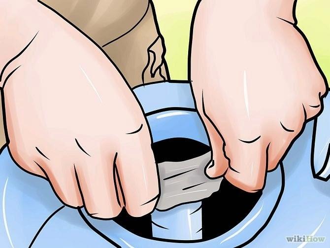 """Cara mengganti tangki filter pasir  di kolam renang """"gambar 6"""""""