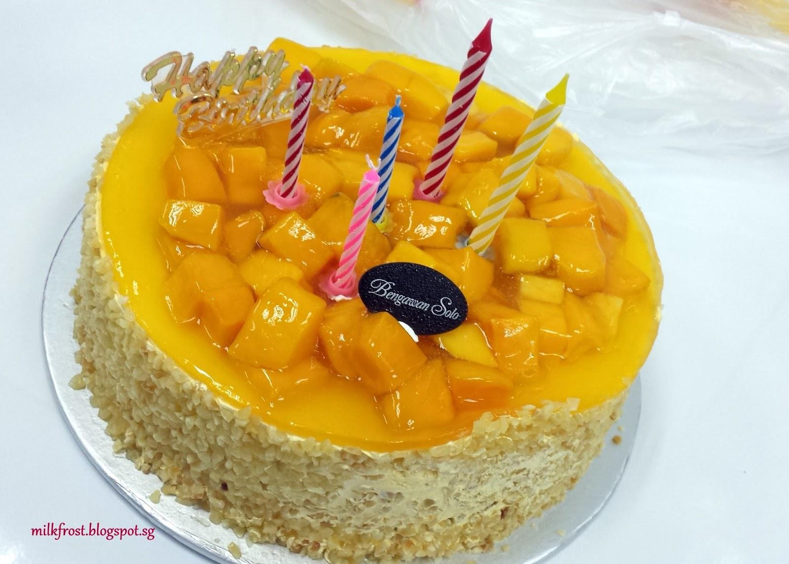 Best Mango Birthday Cake In Singapore