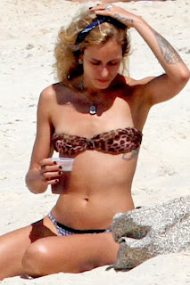 Alice Dellal Lion Bikini Rio De Janeiro Brazil