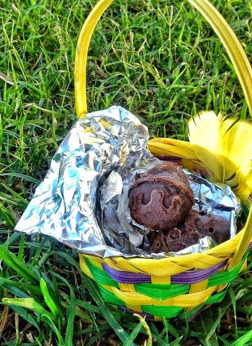 "Vegan ""Milk Chocolate Easter Eggs by Vie De La Vegan"