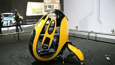 Desain Hyundai E4U - Kendaraan Canggih Masa Depan