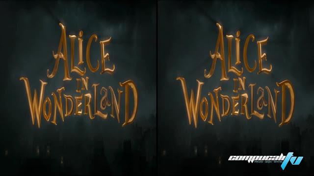 Alicia en el pais de las Maravillas 3D SBS