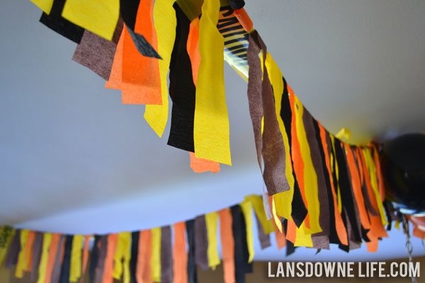 Construction Party Decoration Ideas