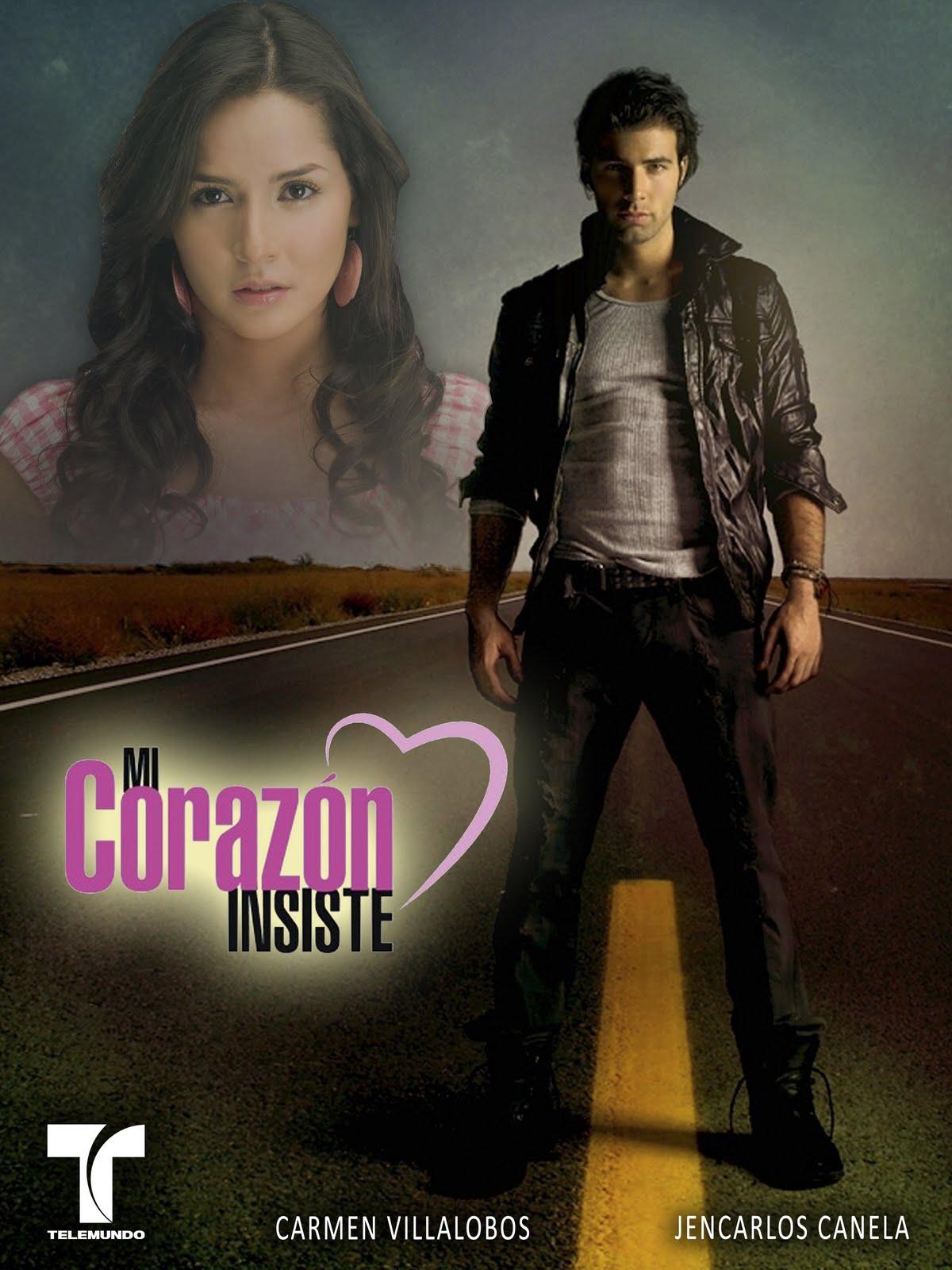 Nuevo poster de la telenovela Mi corazón insiste