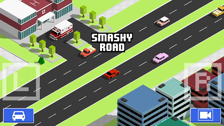 Smashy Road: Wanted Free App Game By Bearbit Studios B.V.